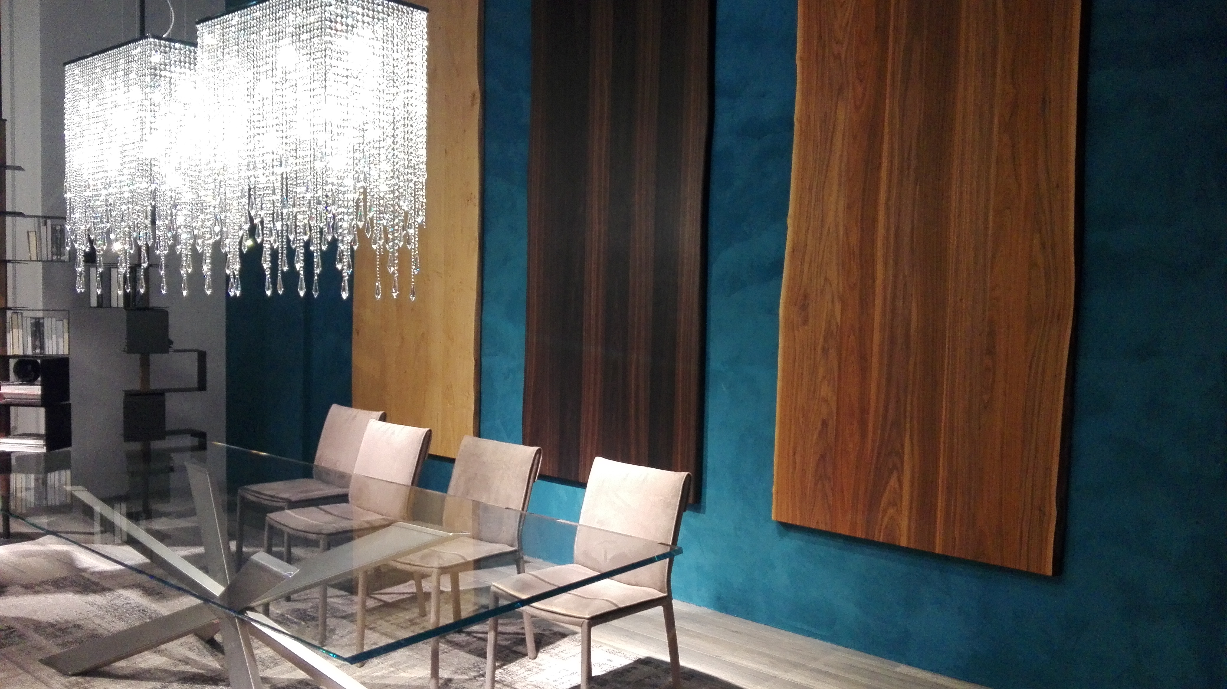 Moderne vrste lesa za notranjo opremo